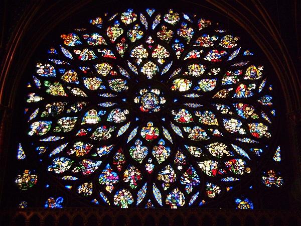 Kostel Sainte – Chapelle