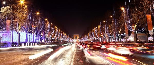 Paříž Vánoce